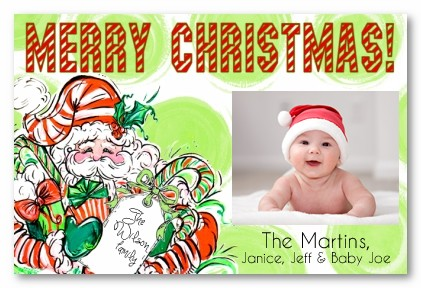 Cutie Clause Personalized Holiday Photo Cards