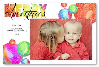 Very Merry Personalized Holiday Photo Cards