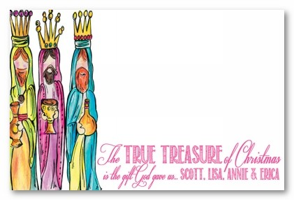 We Three Kings Personalized Holiday Photo Cards