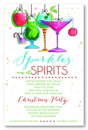 Holiday Mix Personalized Holiday Invitations