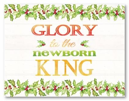 Glory Personalized Folded Note