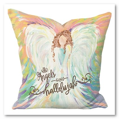 Angels Sing Pillow